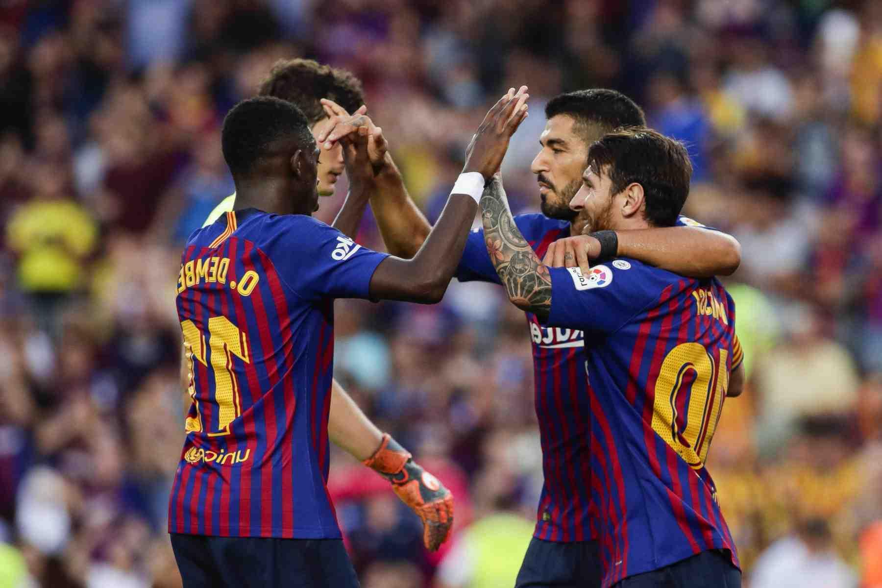 Le Barça a des scores pour régler le terrain