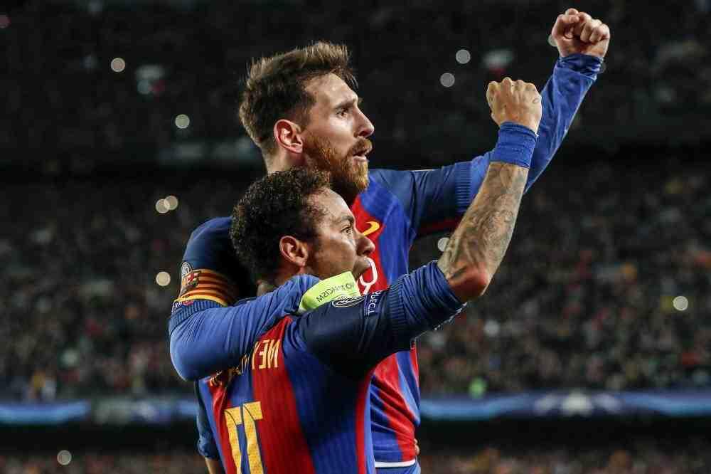 Buteur de Mbappé, Navas le sauveur parisien, joyau de Messi: le choc PSG-Barça en images