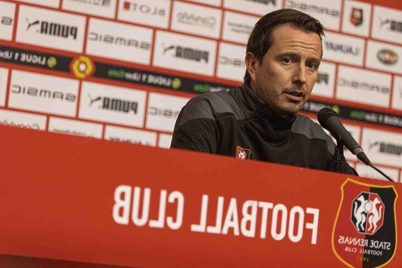 Football: l'entraîneur du Stade Rennais Julien Stéphan a démissionné
