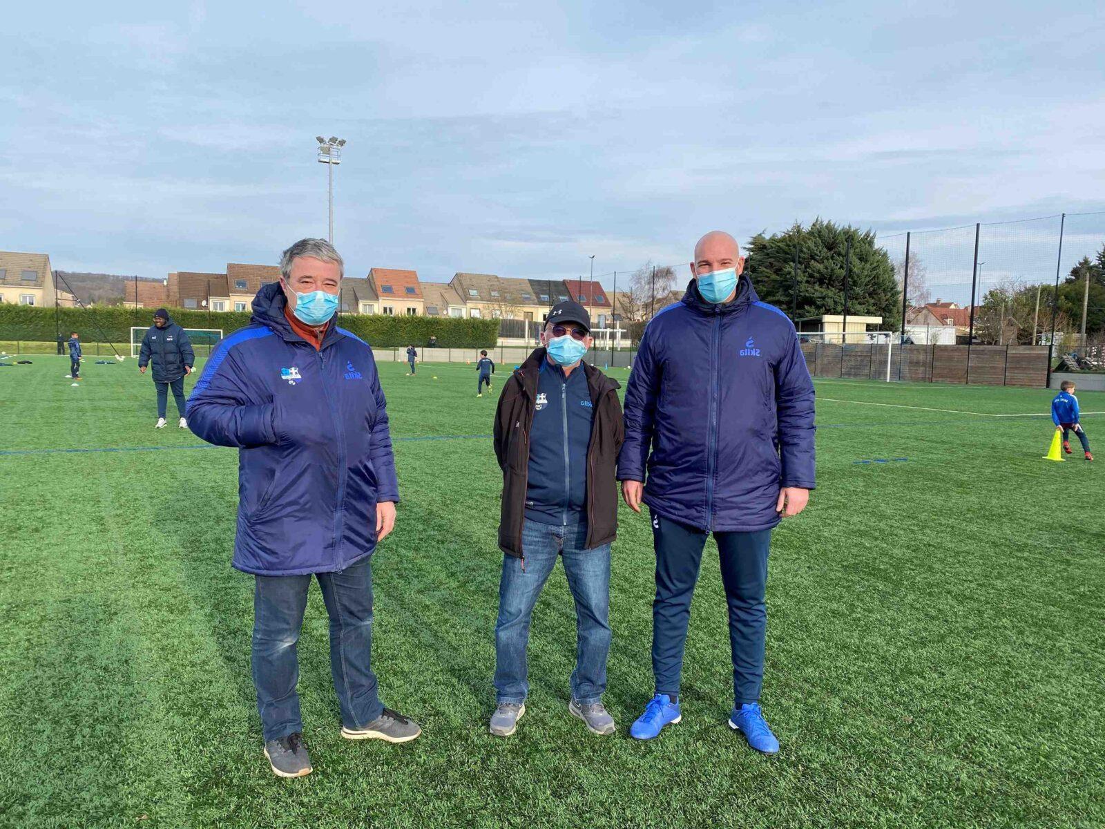 Les jeunes de l'école de football du FC Sète n'ont pas pris de vacances en février