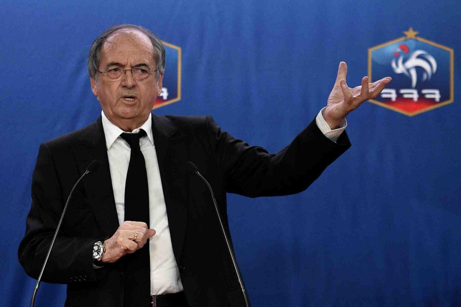 Noël Le Graët, réélu président de la Fédération française de football